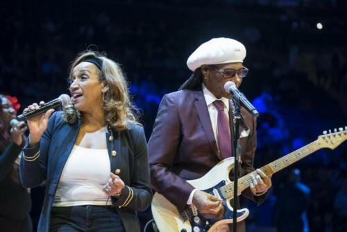 Knicks Halftime with Nile Rodgers and Kathy Sledge